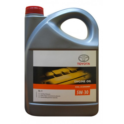Toyota engine oil fuel economy 5w 30 for What s the difference between 5w20 and 5w30 motor oil