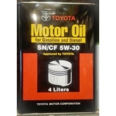 Моторное масло Toyota  Motor Oil SAE 5W-30